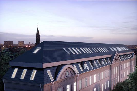 Ejerlejlighed på Hørsholmsgade i København N - Ejendommen