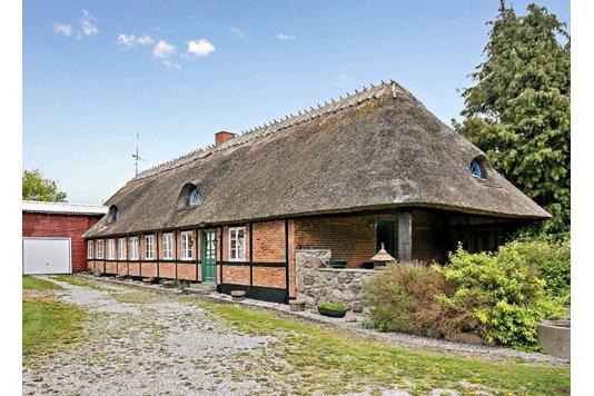 Villa på Kissendrupvej i Faxe - Facade