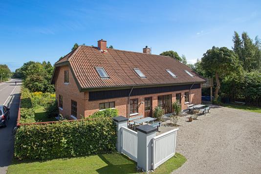 Villa på Strandvejen i Faxe Ladeplads - Ejendommen