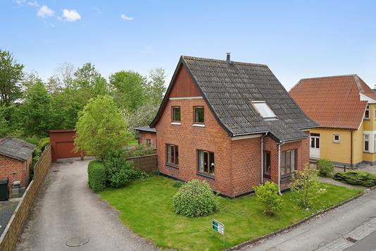 Villa på Egedevej i Faxe - Ejendommen