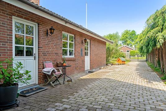 Villa på Vitus Berings Vej i Faxe Ladeplads - Terrasse