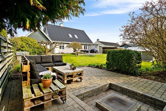 Villa på Fasanvej i Karise - Terrasse