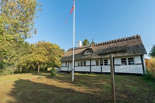 Villa på Kalvehavevej i Faxe - Set fra haven