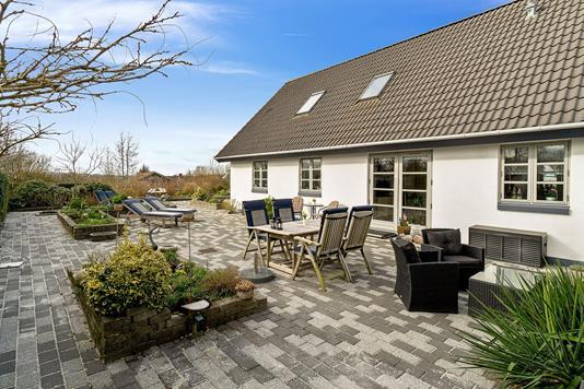 Villa på Dyssevænget i Rønnede - Terrasse