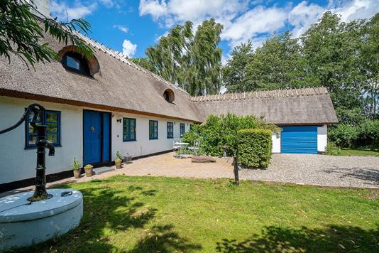 Villa på Mosevej i Karise - Set fra haven