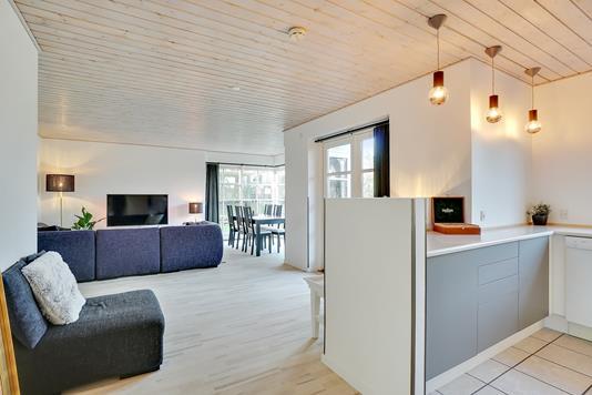 Villa på Skolegade i Karise - Stue