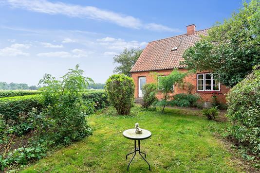 Villa på Køgevej i Karise - Set fra haven