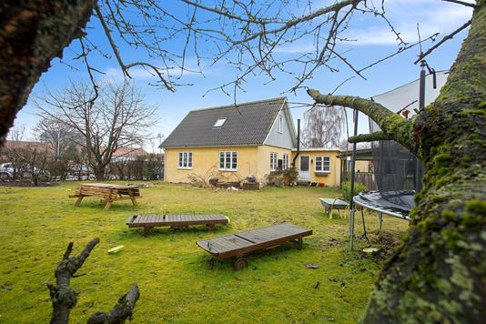 Villa på Romancevej i Herlev - Set fra haven