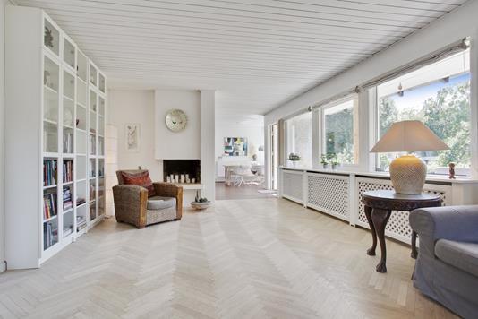 Villa på Tornerosevej i Herlev - Stue
