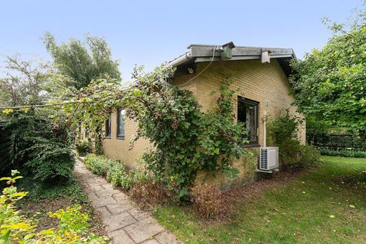 Villa på Havfruevej i Herlev - Set fra haven