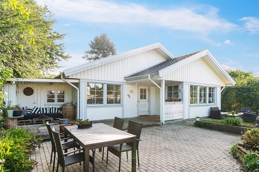 Villa på Tukshøjen i Herlev - Set fra haven