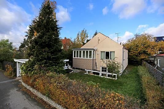Villa på Eriksholmvej i Vanløse - Ejendommen