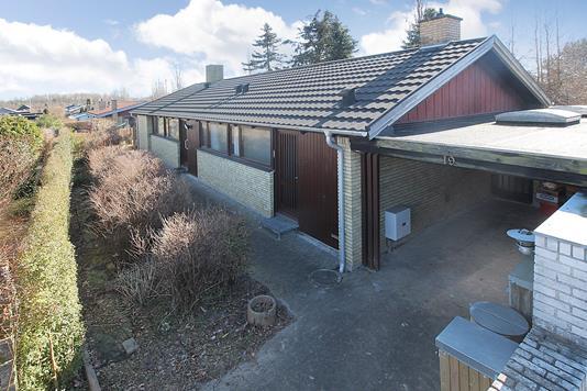 Villa på Kvædehaven i Glostrup - Ejendommen