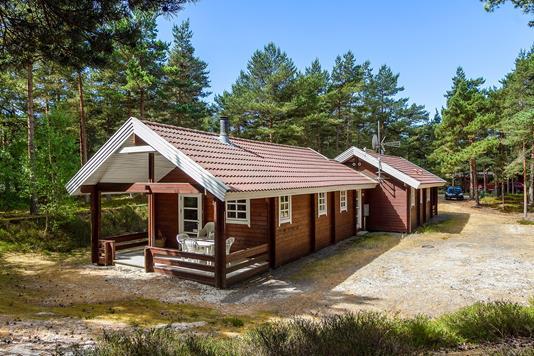 Fritidsbolig på Skovsangervej i Nexø - Ejendommen