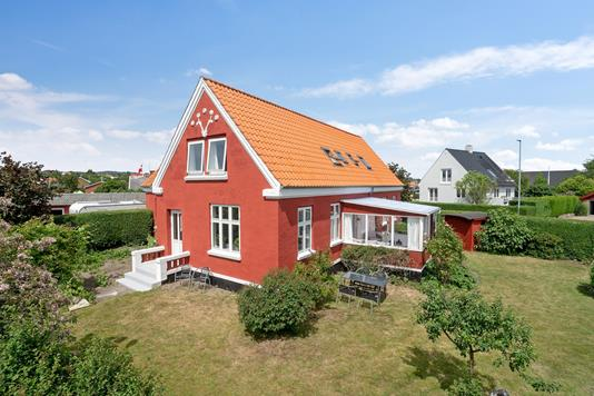 Villa på Paradisvej i Nexø - Set fra haven