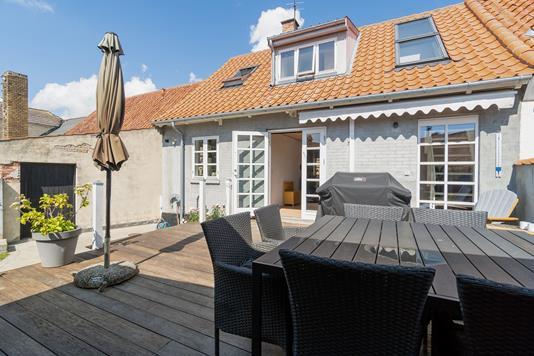 Rækkehus på Brogade i Nexø - Terrasse