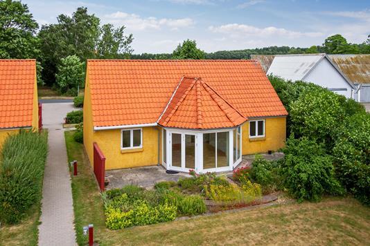 Villa på Tjebberupvej i Holbæk - Set fra haven