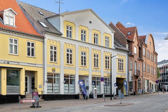 Ejerlejlighed på Ahlgade i Holbæk - Facade