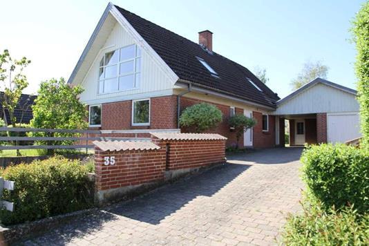 Villa på Blommehaven i Vipperød - Ejendommen