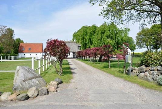Villa på Store Grandløse i Holbæk - Indkørsel