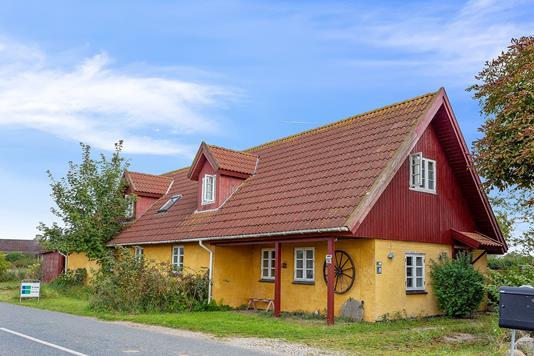 Villa på Skeevej i Store Merløse - Set fra vejen