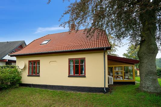 Villa på Kvarmløsevej i Tølløse - Set fra haven