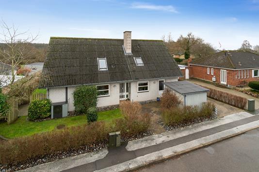 Villa på Fiskervænget i Vipperød - Set fra vejen
