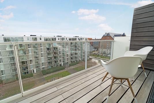 Ejerlejlighed på Klaksvigsgade i København S - Altan