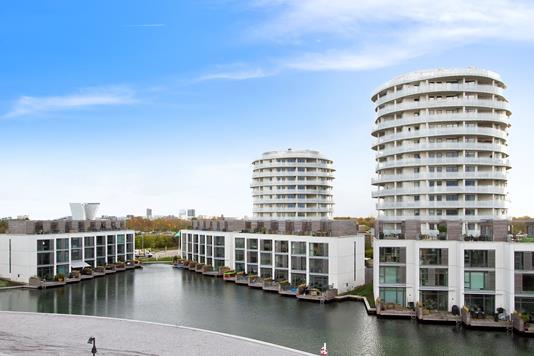 Ejerlejlighed på Viggo Kampmanns Plads i København S - Facade