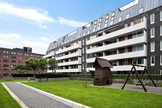 Ejerlejlighed på Thorshavnsgade i København S - Ejendommen