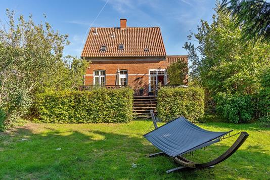 Villa på Høeghsmindevej i Gentofte - Set fra haven