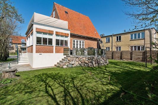 Villa på Fuglegårdsvænget i Gentofte - Set fra haven