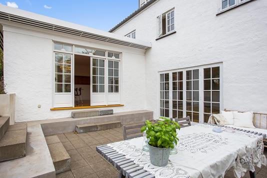 Villa på Agertoften i Gentofte - Terrasse