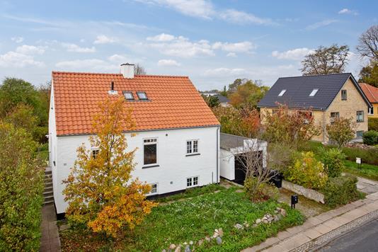 Villa på Agertoften i Gentofte - Set fra vejen