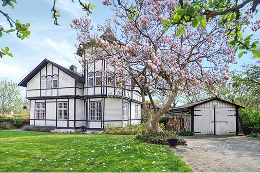 Villa på Ermelundsvej i Gentofte - Facade
