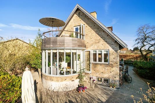 Villa på Dyssegårdsvej i Dyssegård - Set fra haven