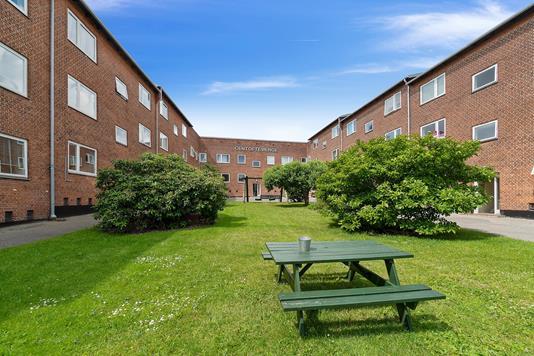 Ejerlejlighed på Vangede Bygade i Gentofte - Gårdmiljø
