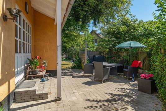 Villa på Vinagervej i Kongens Lyngby - Terrasse
