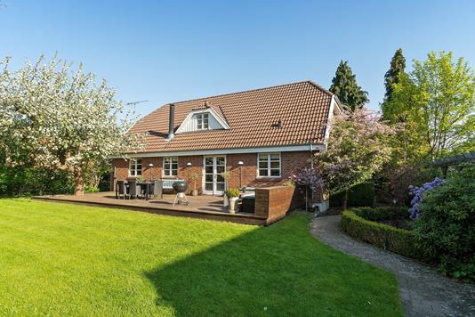 Villa på Fuglegårdsvej i Gentofte - Set fra haven