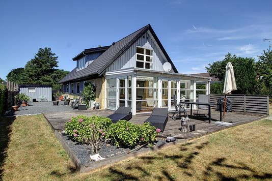 Villa på Nørredamsvej i Fredensborg - Terrasse