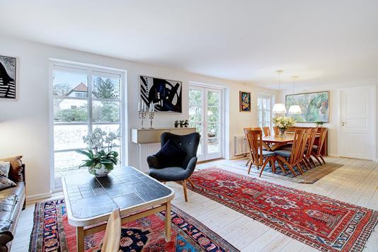 Villa på Østrupvej i Fredensborg - Stue
