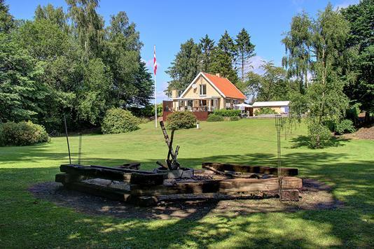 Villa på Hillerødvejen i Fredensborg - Have