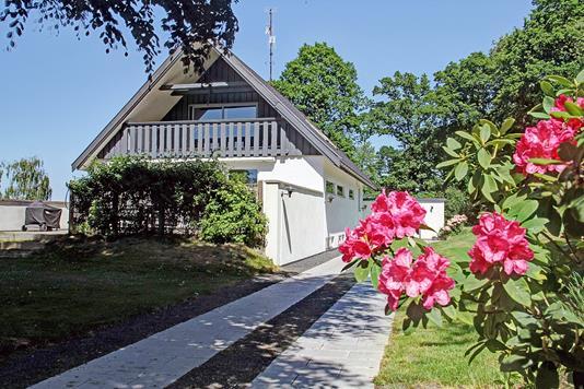 Villa på Dronningens Kovang i Fredensborg - Ejendommen