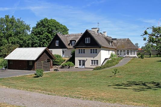 Landejendom på Brunemarksvej i Kvistgård - Ejendommen