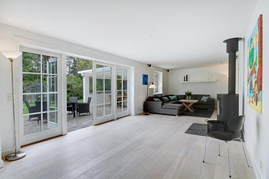 Villa på Endrupvej i Fredensborg - Stue