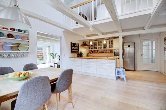 Villa på Kirkevej i Fredensborg - Køkken