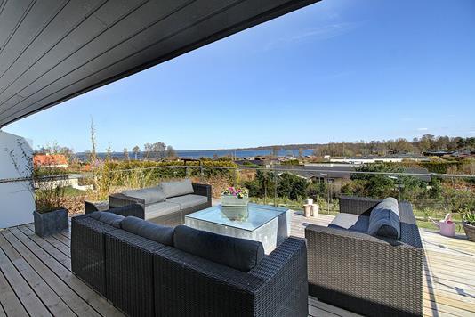 Villa på Pile Alle i Fredensborg - Altan