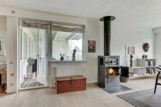 Rækkehus på Ternevej i Odense NV - Stue