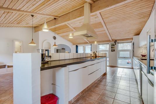 Villa på Bøllemosegyden i Blommenslyst - Køkken