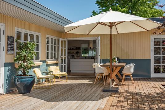 Villa på Lupinvej i Odense NV - Terrasse